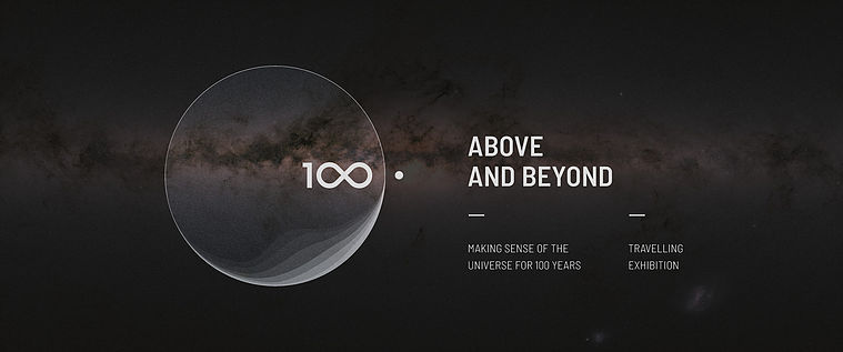 Above and Beyond was commissioned within the framework of the IAU 100th anniversary celebrations. Credit: IAU